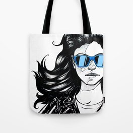 Sunglasses girl Tote Bag
