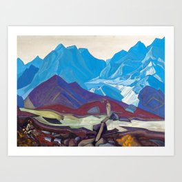Nicholas Roerich - From Beyond - Digital Remastered Edition Art Print
