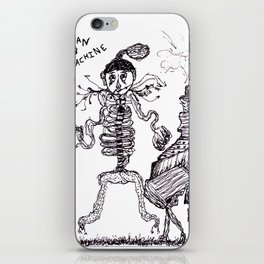 Man & Machine iPhone Skin
