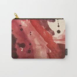 Starlight [4]: a pretty abstract watercolor piece in reds and purples by Alyssa Hamilton Art Carry-All Pouch