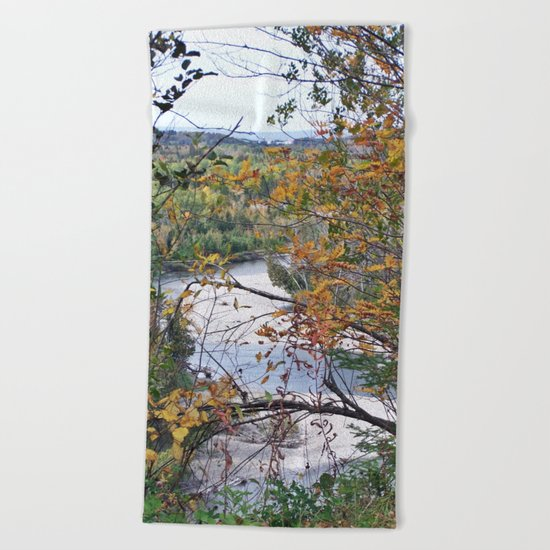 From the Forest to the Sea Beach Towel