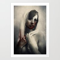 there will be blood Art Prints featuring Blood by Digital Asylum (Josh Winton)