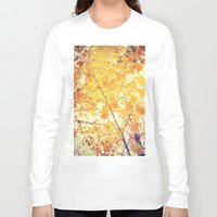 be happy Long Sleeve T-shirts featuring Happy by Olivia Joy StClaire