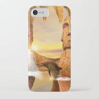 dolphin iPhone & iPod Cases featuring Dolphin by nicky2342
