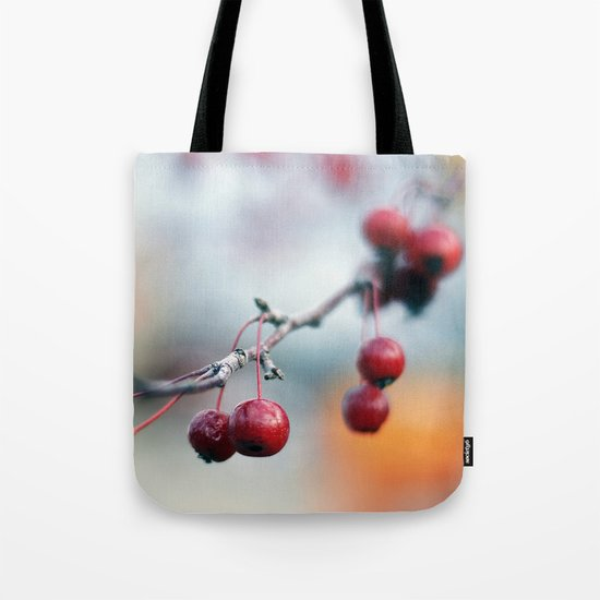 Fall Berries Tote Bag