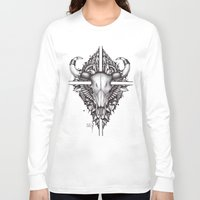 buffalo Long Sleeve T-shirts featuring buffalo by Sergey Mazur
