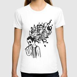 Brain off T-shirt