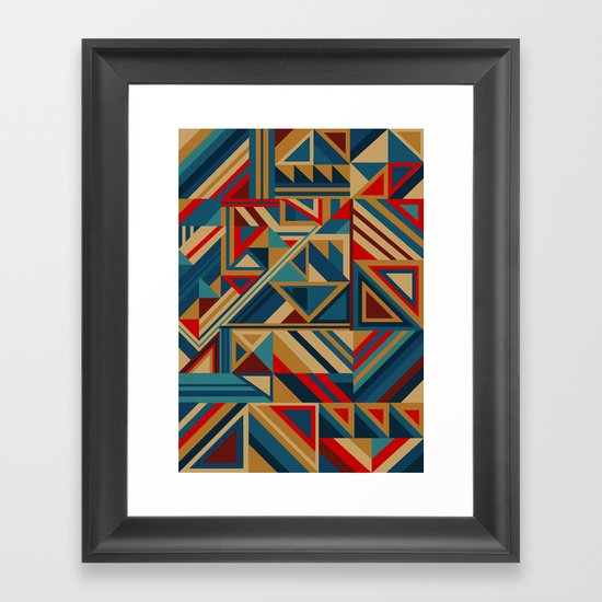 Colorgraphics I Framed Art Print