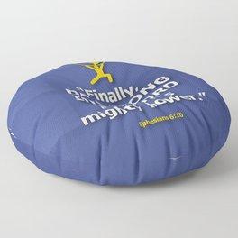 Be Strong Floor Pillow