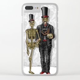 The House: Dr. Xavier Clear iPhone Case