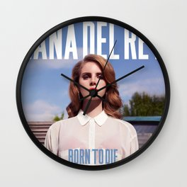 lana del ray born to die 2020 tour again Wall Clock