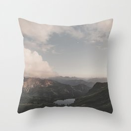 Moonchild - Landscape Photography Throw Pillow