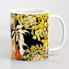 Marguerite's Bower, Mucha Coffee Mug
