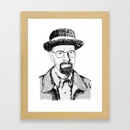 Heisenburg Framed Art Print