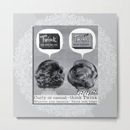 Twink Metal Print