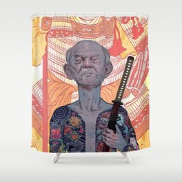 Oyabun Shower Curtain