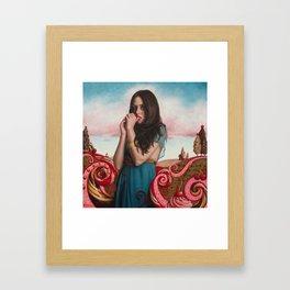 Cherries On Top Framed Art Print