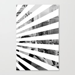City Rays Canvas Print