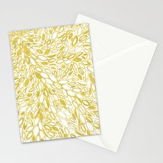Golden Doodle petals Stationery Cards