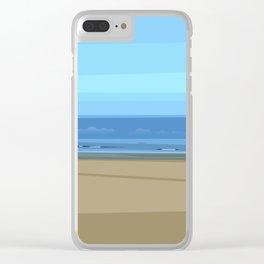 Seascape I - Kijkduin Clear iPhone Case