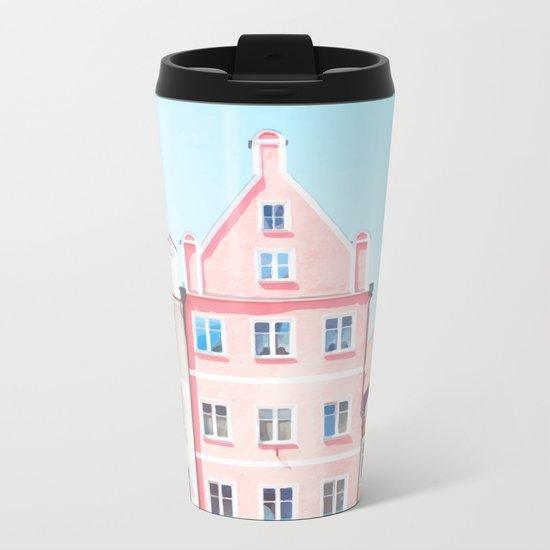 House 2 Metal Travel Mug