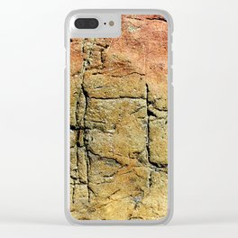 Ancient Writings Clear iPhone Case