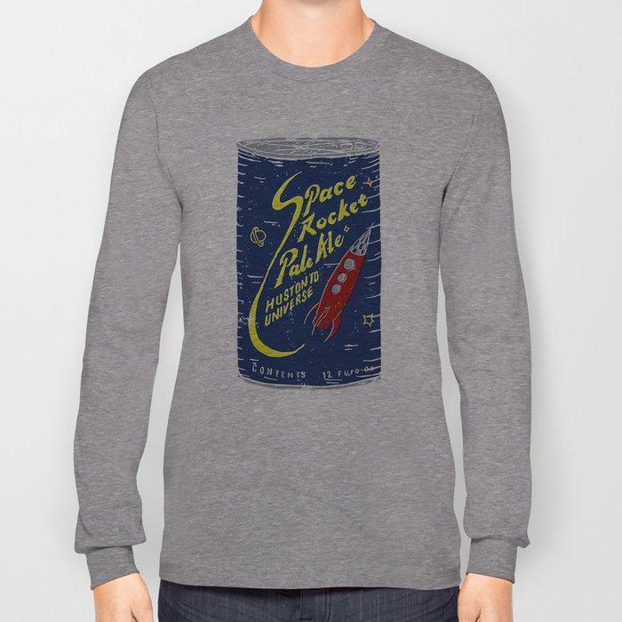 Space Rocket Pale Ale Long Sleeve T-shirt
