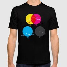 YM love CK hate T-shirt