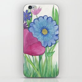Flowers for you iPhone Skin