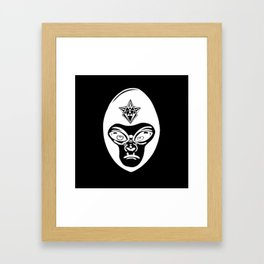 Alien/gorilla (goralien) XENO 2.0 Framed Art Print