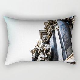 Church of Fire Rectangular Pillow