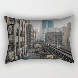 Morning Fader Rectangular Pillow