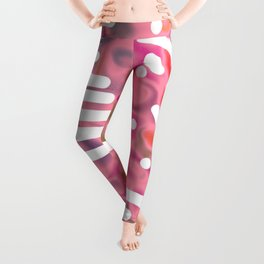 Rose bambi 01 Leggings