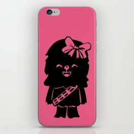Baby Girl Wookie in Pink Graphic iPhone Skin