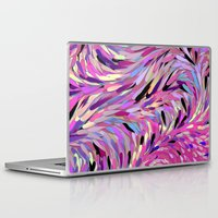 friday Laptop & iPad Skins featuring Free Friday by MehrFarbeimLeben