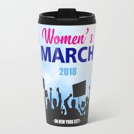 women's march Travel Mug