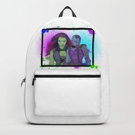 Nebula and Gamora Backpack