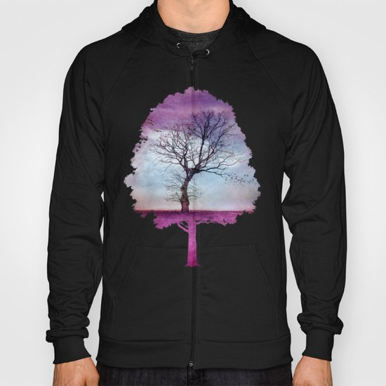 ATMOSPHERIC TREE | Pink Morning Hoody