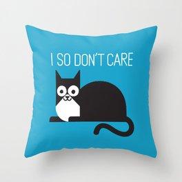 Fur Real Throw Pillow