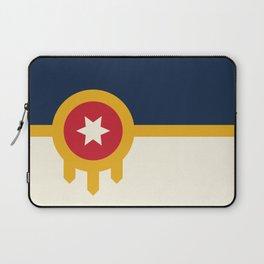 Tulsa Flag Laptop Sleeve