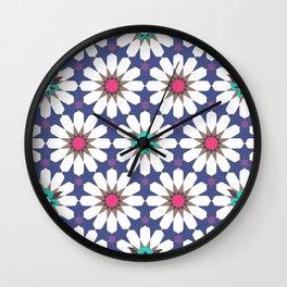 Arabian Nights Tiles Wall Clock