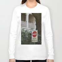 bicycles Long Sleeve T-shirts featuring Except Bicycles by RMK Creative