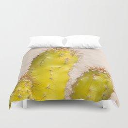 lemon cactusI Duvet Cover