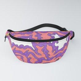 Purple & Peach-ish 2 Fanny Pack