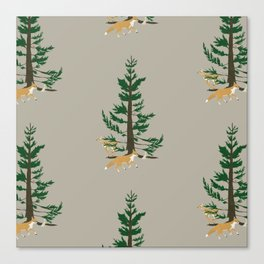 Forest Whimsy Canvas Print