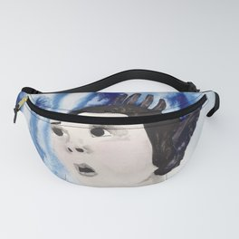 Emily Dickinson Flies Away Fanny Pack