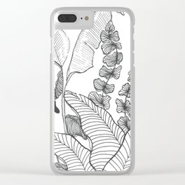 garden ink Clear iPhone Case