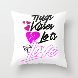 Funny Quote Valentines Day Design Throw Pillow
