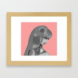 Kinoko the Robot Framed Art Print