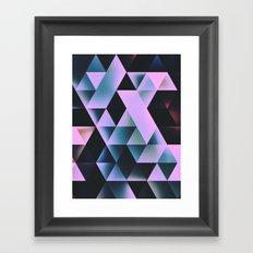 knyte bryte Framed Art Print